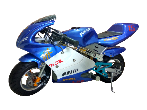 Blue-Pocket-Bike