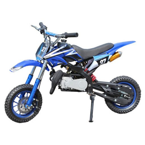 Mini Dirt Bike Mini Scramble 49cc Blue