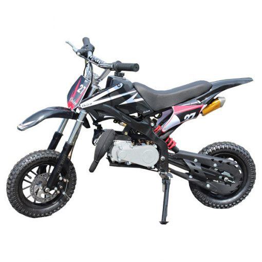 Mini Dirt Bike - Mini Scrambler - Mini Motor Cross 49cc Black