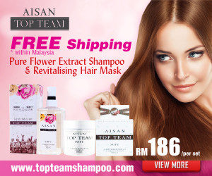 Aisan Top Team Shampoo - Non Silicone Natural Hair Care Shampoo