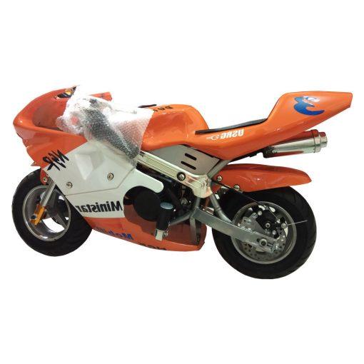 Mini Bike Pocket Bike Orange Color 49cc Malaysia