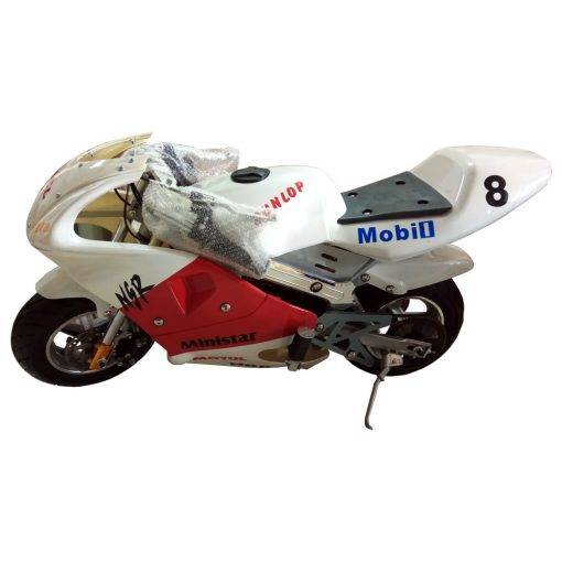 Mini Bike Pocket Bike White Color 49cc Malaysia