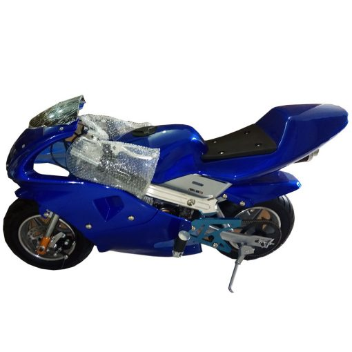 Mini Pocket Bike Sport Bike Pure Blue