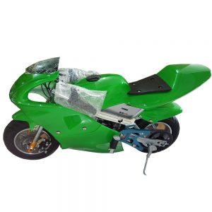 Mini-Pocket-Bike-Sport-Bike-Pure-Green-300x300