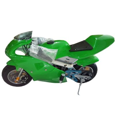 Mini Pocket Bike Sport Bike Pure Green