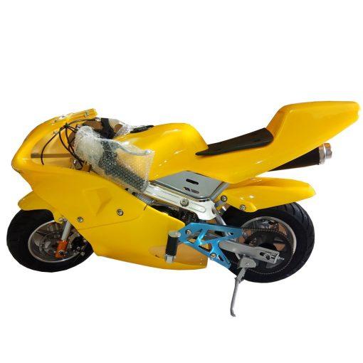 Mini Pocket Bike Sport Bike Pure Yellow