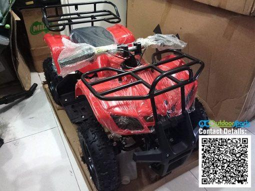 Kids Mini ATV 49cc Red Malaysia 01