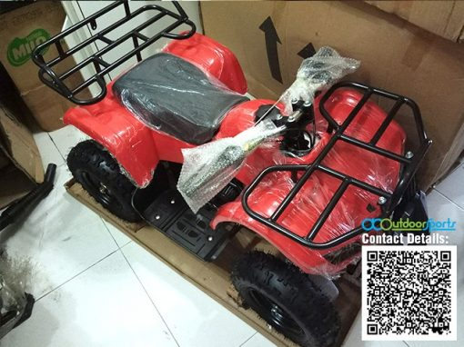 Kids Mini ATV 49cc Red Malaysia 04